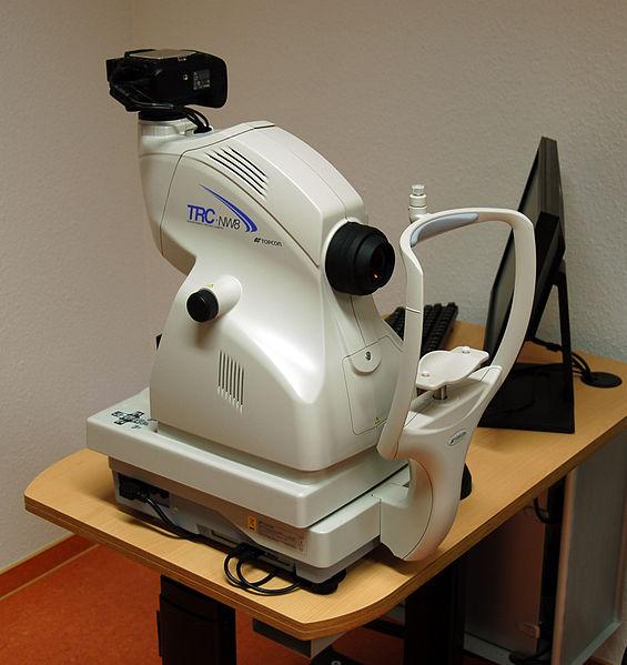 Sprzęt optyczny do badania wzroku