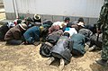 2010 China's Violence Troop Detains Tibetan People in Shigatse, Tibet 中國在西藏日喀則以武力拘禁控制圖博人民.jpg