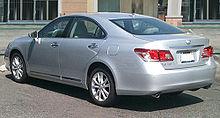 Rear View Of Lexus ES 350 (GSV40)