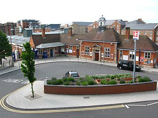 Aylesbury railway station railway station in Aylesbury, Buckinghamshire, England