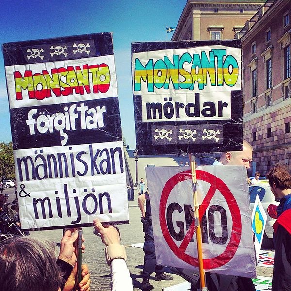 File:2013, Stockholm Demonstration against Monsanto 02.jpg