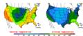 2013-05-03 Color Max-min Temperature Map NOAA.png