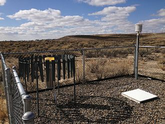 National Weather Service - A Cooperative Observer Program weather station.
