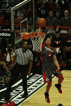 20130403 MCDAAG Aaron Gordon alley oop from Aaron Harrison (6) cropped.jpg