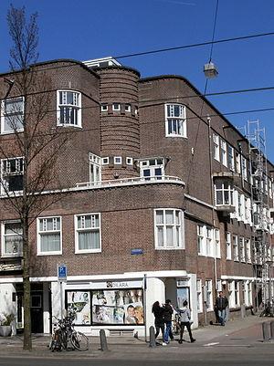 Amsterdam-West - Amsterdam School architecture, De Baarsjes.