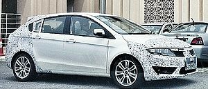 Proton Suprima S - Proton P3-22A prototype with camouflage taping.