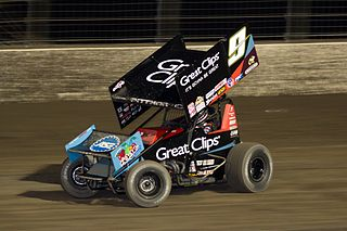 Sprint car racing Auto racing with small, high-powered vehicles