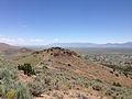 "2014-06-13 12 30 00 View east from the summit of ""E"" Mountain in the Elko Hills of Nevada.JPG"