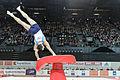 2015 European Artistic Gymnastics Championships - Vault - Andrey Medvedev 02.jpg