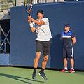 2015 US Open Tennis - Qualies - Jose Hernandez-Fernandez (DOM) def. Jonathan Eysseric (FRA) (20967164845).jpg