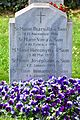 2016-04-15 GuentherZ (123) Wien11 Zentralfriedhof Ruhestaette Klosterfrauen von Notre Dame de Sion.JPG