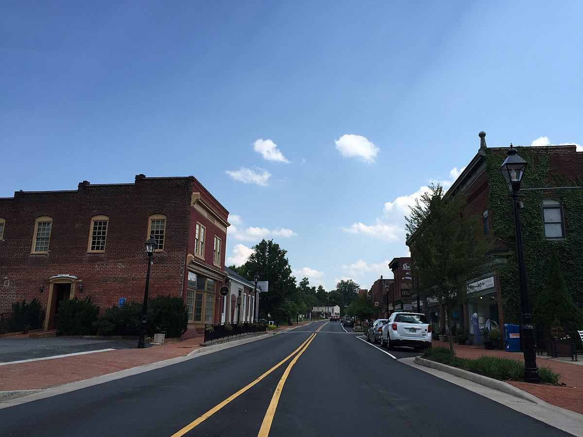 Gordonsville Historic District - Wikipedia