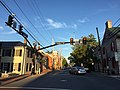 2016-08-23 19 12 13 View east along U.S. Route 50 (Cork Street) at Loudoun Street in Winchester, Virginia.jpg
