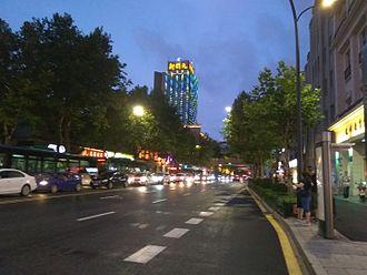Shangcheng District - Jiefang Road in Shangcheng