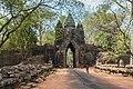 2016 Angkor, Angkor Thom, Brama północna (01).jpg
