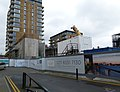 2016 Woolwich Crossrail station construction site 04.jpg