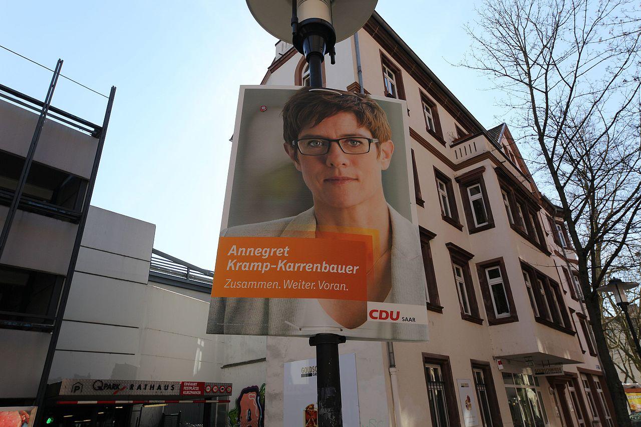 2017-03-26 Wahlplakat der CDU (Saarbrücken) by DCB.jpg