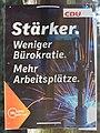 2017-04-03 Wahlkampf-Plakat der CDU zur NRW-Landtagswahl 2017 IMG 3395.jpg