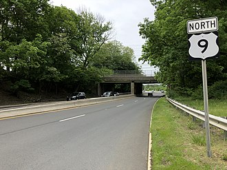 Freehold Borough, New Jersey - US 9, the largest and busiest road in Freehold Borough