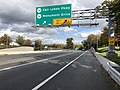 2018-10-29 13 32 54 View north along Virginia State Route 286 (Fairfax County Parkway) at the exit for Virginia State Route 7700 (Fair Lakes Parkway) and Virginia State Route 7969 (Monument Drive) in Fair Lakes, Fairfax County, Virginia.jpg