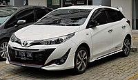 2018 Toyota Yaris 1.5 S TRD Sportivo hatchback (NSP151R; 12-22-2018), South Tangerang.jpg