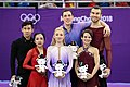 2018 Winter Olympic Games Pairs Podium.jpg
