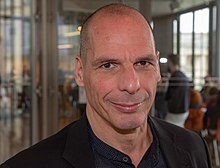 Photograph of Yanis Varoufakis
