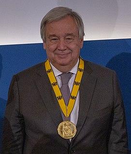 portugiesischer Politiker und UN-Generalsekretär
