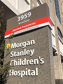 Morgan Stanley Children's Hospital - Wikipedia