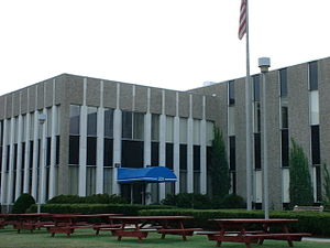 Computervision - Computervision's headquarters were at 201 Burlington Road in Bedford, Massachusetts