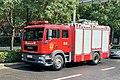 20210724 A MAN fire engine from Jiujiang, Jiangxi at Zhengzhou.jpg