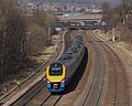 222001 passes Tapton Junction , Chesterfield.jpg