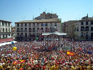 Tudela, Navarre - Image: 24julio 005 012