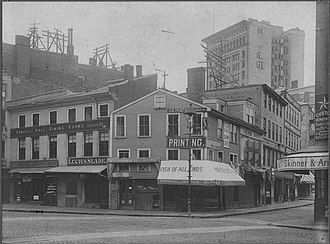 Dock Square (Boston) - Image: 2885427158 Dock Square Boston 1898