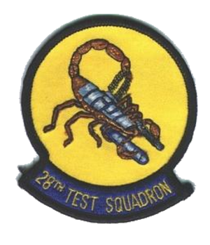 28th Test and Evaluation Squadron - Emblem of the 28th Test and Evaluation Squadron