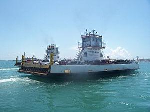 2 ferries in Port Aransas.jpg