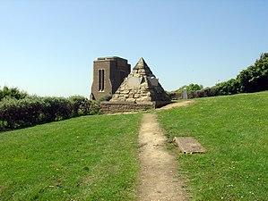 James Burton (property developer) - Pyramidal Tomb of James Burton (1761 - 1837) and Burton family at St Leonards-on-Sea, England.