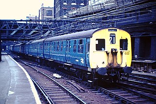 class of 92 British 3-car electric multiple units