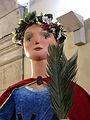 364 La gegantona Laia de Barcelona, al palau de la Virreina.JPG