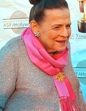 Alice Estes Davis - Davis at the 2014 Annie Awards