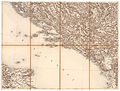 4 - südl Dalmatien, Sarajevo, Skutari; Scheda-Karte europ Türkei.jpg