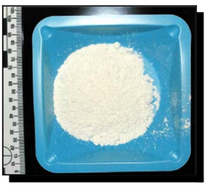 Mephedrone - A sample of mephedrone that was confiscated in Oregon, US, 2009