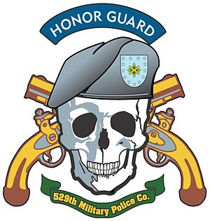 95th Military Police Battalion - Image: 529th Military Police Company logo