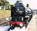 60163 Tornado at Swanage, 20 July 2014 (2).jpg