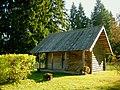 662. Mikhailovskoye. Wooden barn.jpg