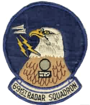 Cross City Air Force Station - Emblem of the 691st Radar Squadron