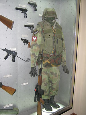 Kosovo War - Equipment of 72nd Special Brigade Yugoslav Army in the 1999 Kosovo War.