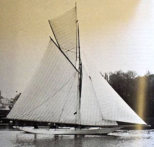 Sailing at the 1908 Summer Olympics - Image: 7Metre Blue Bird