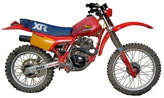 Honda XR series - 1983 Honda XR200R