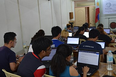 8th Waray Wikipedia Edit-a-thon 13.JPG